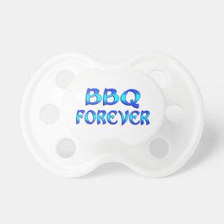 Bbq para siempre chupetes