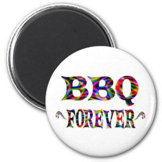 Bbq para siempre imán para frigorifico
