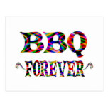 Bbq para siempre postal