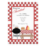 BBQ Party Custom Invite