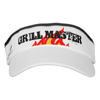 BBQ party grill master sun visor cap for men