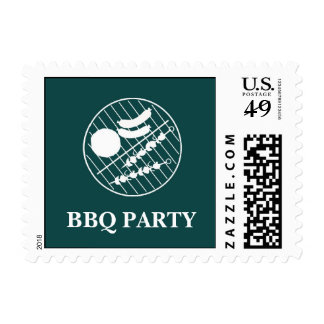 BBQ Party Grill Small Postage