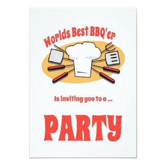 BBQ Party Invitation Personalized Invitations