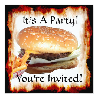 BBQ Party! Invitation