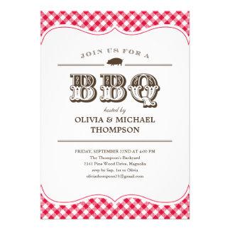 BBQ Party Invitations