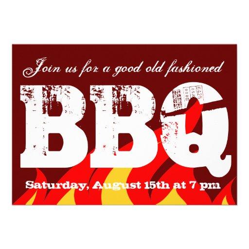 bbq invite template