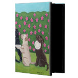 BBQ Party Labs in the Azalea Garden iPad Air Covers