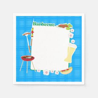 BBQ Party Paper Napkin
