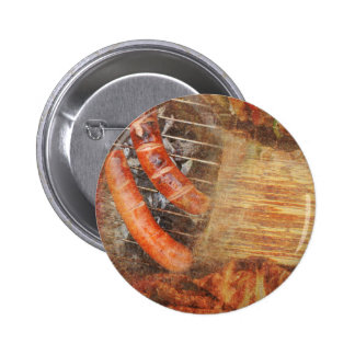 BBQ Party Pinback Button