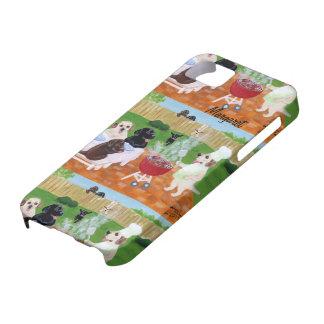 Bbq personalizado Labradors iPhone 5 Case-Mate Coberturas
