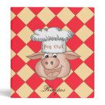 BBQ Pig Out Binder