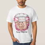 BBQ Pig Out Chef mens value t-shirt