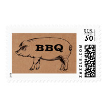 BBQ Pig Stamps