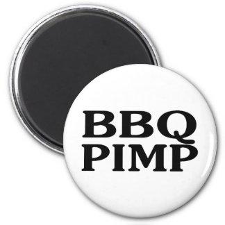 BBQ Pimp 2 Inch Round Magnet
