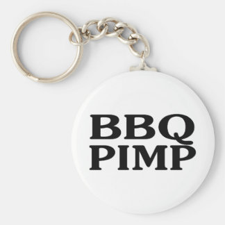 BBQ Pimp Keychain