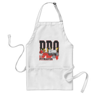 BBQ Pit Master Adult Apron