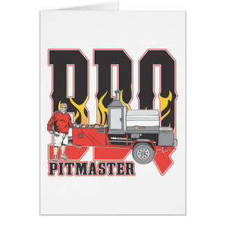 BBQ Pit Master Card
