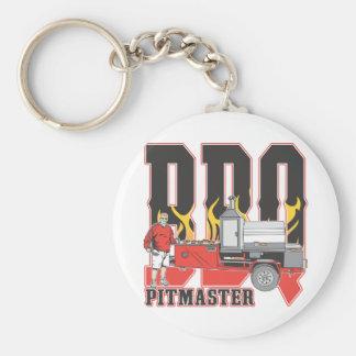 BBQ Pit Master Key Chain