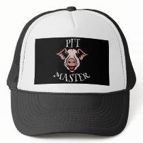 BBQ Pit Master Pig Trucker Hat