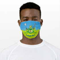 BBQ Prince Adult Cloth Face Mask