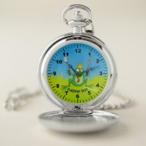 BBQ Prince Pocket Watch