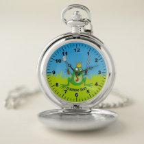 BBQ Prince Pocket Watch