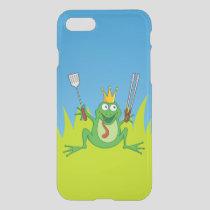 BBQ prince iPhone SE/8/7 Case