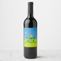 BBQ Prince Wine Label