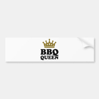 BBQ Queen Bumper Stickers