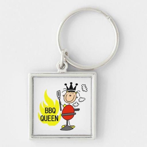 BBQ Queen Keychain