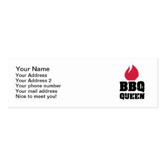 BBQ Queen Mini Business Card