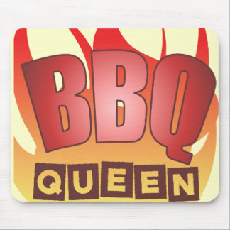 BBQ Queen Mouse Pad