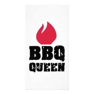 BBQ Queen Photo Card Template