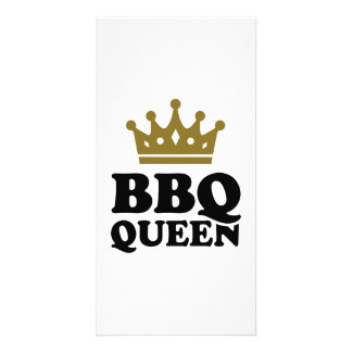 BBQ Queen Photo Cards