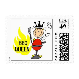 BBQ Queen Stamps