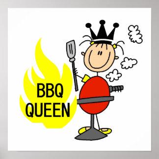 BBQ Queen Posters