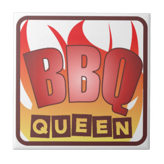 BBQ Queen Tile Trivet - Frame Available