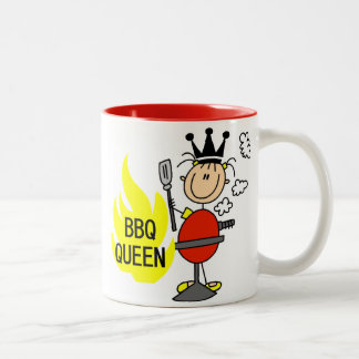 BBQ Queen Two-Tone Coffee Mug