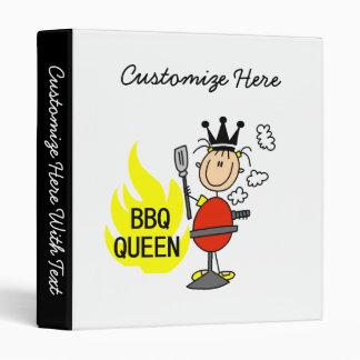 BBQ Queen Vinyl Binder
