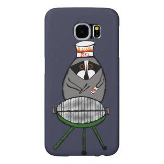 BBQ Raccoon for Samsung Phone Case