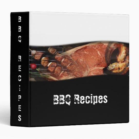 BBQ Recipes Avery Binder