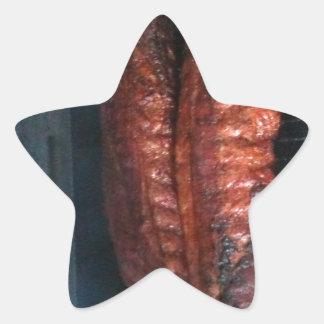 BBQ Ribs Star Sticker