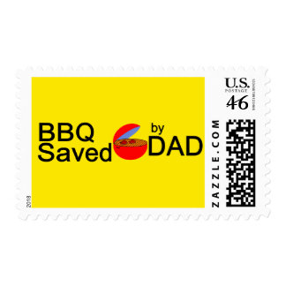 BBQ Saved by DAD Stamp