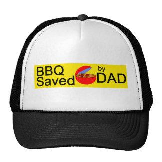 BBQ Saved by DAD Trucker Hat
