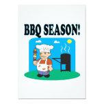 "BBQ Season 2 5"" X 7"" Invitation Card"