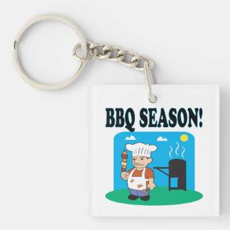 BBQ Season 2 Keychain