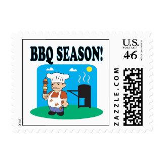 BBQ Season 2 Postage Stamps