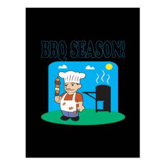 BBQ Season 2 Postcard