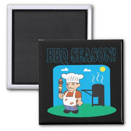 BBQ Season 2 Refrigerator Magnet