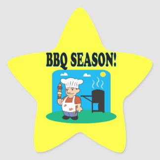 BBQ Season 2 Star Sticker